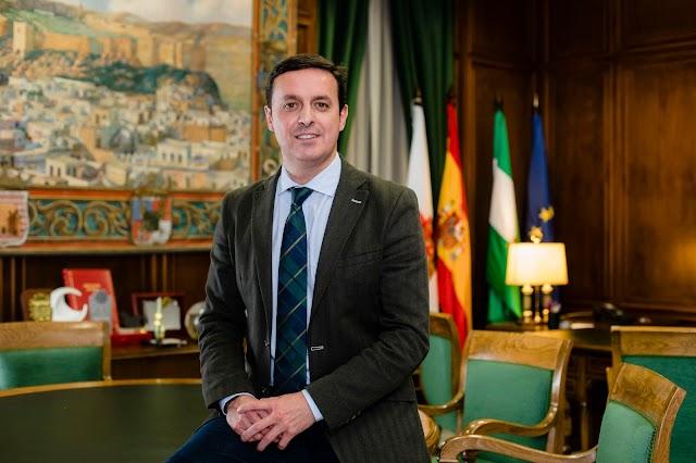 Javier Aureliano García, presidente de la Diputación.