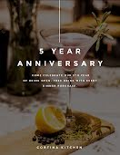 Five Year Anniversary - Flyer item