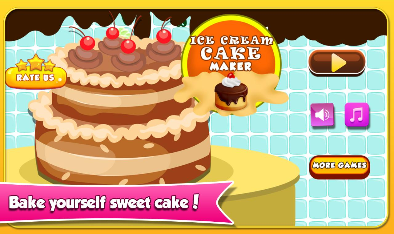 Google Images Ice Cream Cake : Ice Cream Cake Maker - Android Apps on Google Play