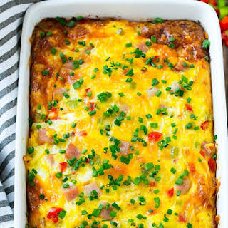 Hash Brown Egg Casserole.