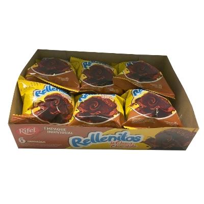 Rellenitos Rifel Choco 6Und
