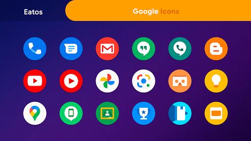 oneui 3 - round icon pack screenshot 2