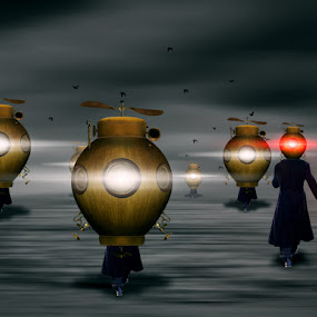 by Rudiey TaButi - Digital Art Abstract