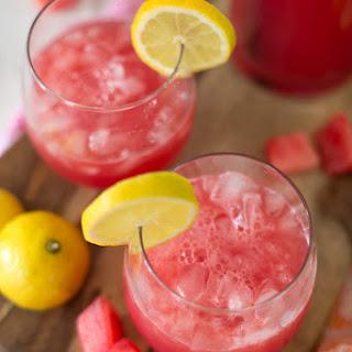 Sparkling Watermelon Lemonade.