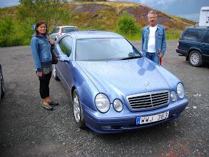 Photo: Karin och Rolle med hans nya Merca!