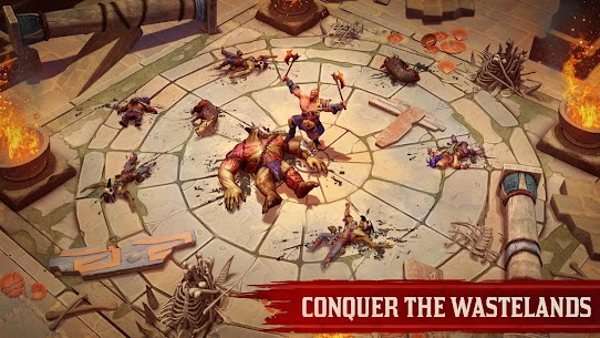 Exile Survival – Survive to fight the Gods again Apk Download For Android and Iphone 4