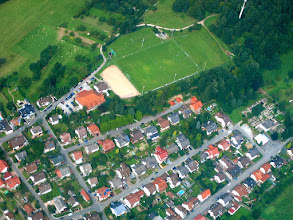 Photo: Mückenloch-Sportplatz BSC,  September 2006