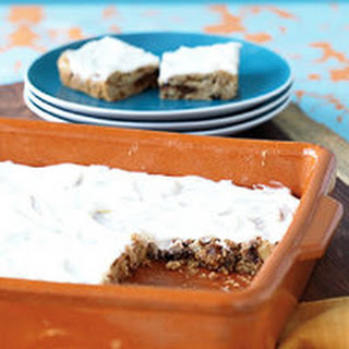 Oatmeal-Raisin Bars with Cream Cheese Frosting