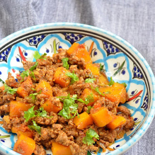 Spicy Ground Beef and Butternut Squash Recipe