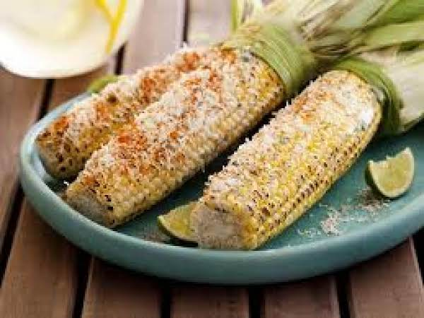 Grilled Parmesan Corn On The Cob Recipe