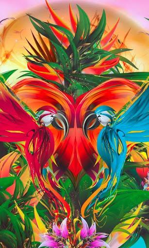 抽象ジャングル live wallpaper