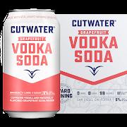 Cutwater Vodka Soda with Grapefruit