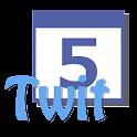 TwitCal your tweet calendar icon