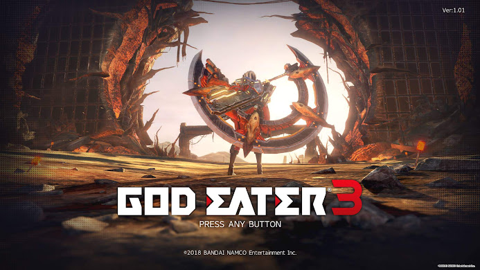 PS4 - GOD EATER 3 番外編 [作戦名] 落日/王権 周回プレー