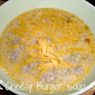 Cheesy Burger Soup-S