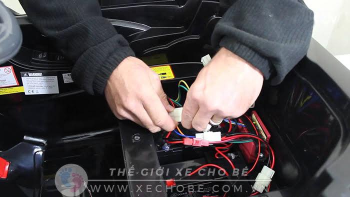 nâng cấp động cơ ô tô điện trẻ em 4