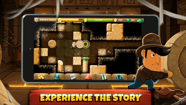 Diggy's Adventure APK screenshot thumbnail 3