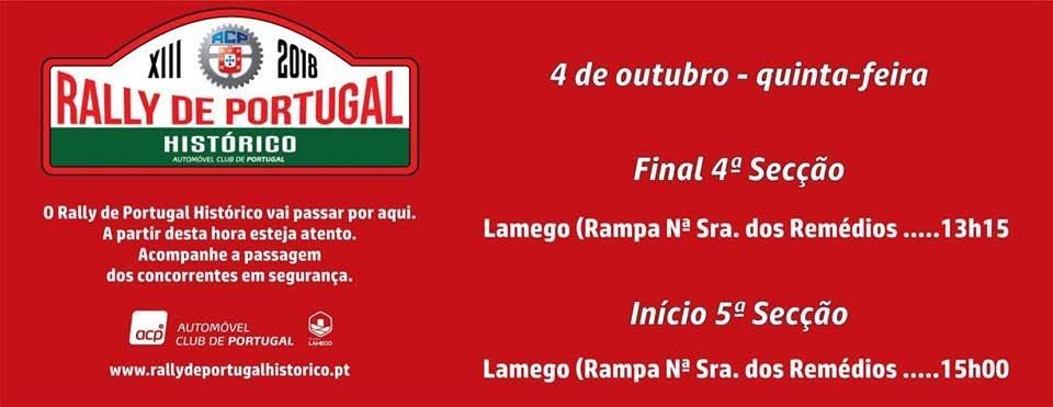 Rally Portugal Histórico vai subir a Rampa dos Remédios
