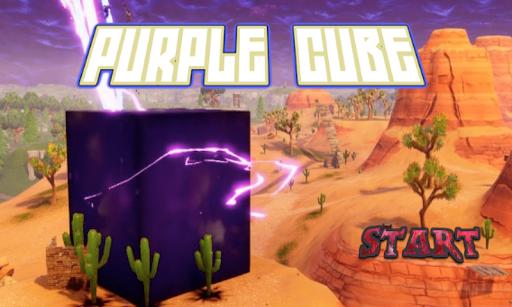 Purple Cube Fort Battle 3D ( maps & mods )  captures d'écran 1