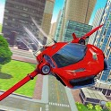 Real Flying Car Driving City icon