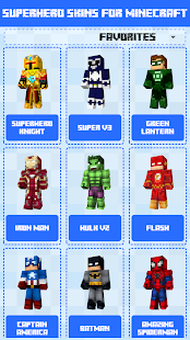 Superhero Skins for Minecraft PE 🎮 12