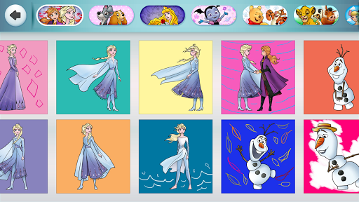 Disney Coloring World screenshots 18