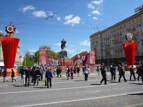 Photo: Celá Moskva žije oslavami.