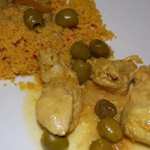 Chicken Tagine with Spicy Lemon
