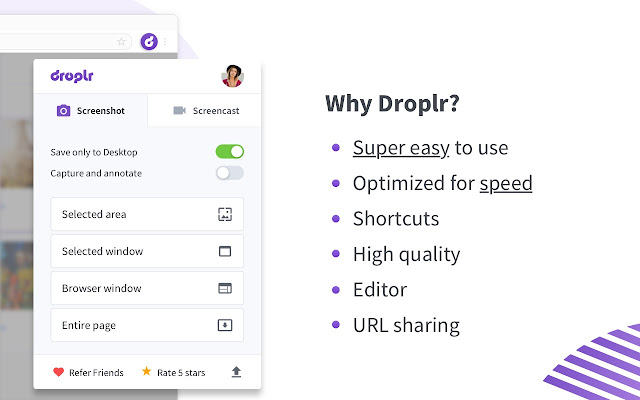 Droplr - Screenshot, Annotate, & Screencast