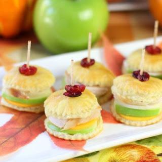 Thanksgiving Turkey & Apple Pastry Bites!