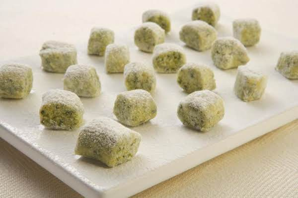 Spinach Gnocchi With Ricotta & Parmesan