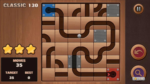 Moving Ball Puzzle screenshot 5