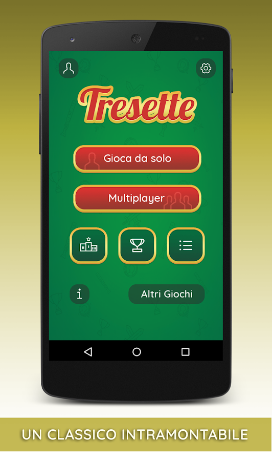 Tresette Gratis con Multiplayer- screenshot