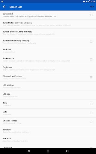 LED Blinker Notifications Pro - Manage your lights  screenshots 14