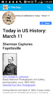 Today in History : Celebrations & History Today- screenshot thumbnail
