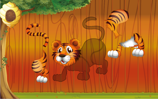 Puzzles for kids Zoo Animals  screenshots 2