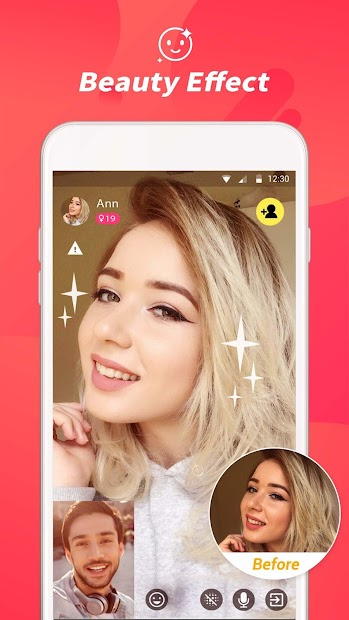 Tumile - Meet new people via free video chat screenshot 1
