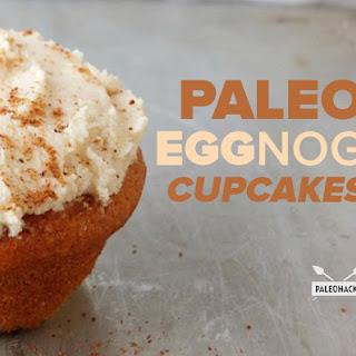 Paleo Eggnog Cupcakes