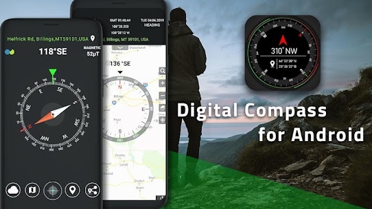 Compass App: Smart Compass for Android 6