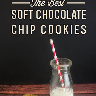 BEST Soft Chocolate Chip Cookies Ever.