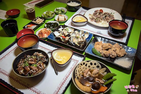 虎尾寮好吃日式家庭料理|定食簡餐|丼飯,高cp值小菜、白飯、飲料內用免費吃到飽!