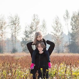 Siblings by Jenny Hammer - Babies & Children Children Candids ( siblings, sisters, girl, cute, boy, brother )
