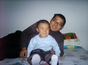 Photo: i m glad with dad.