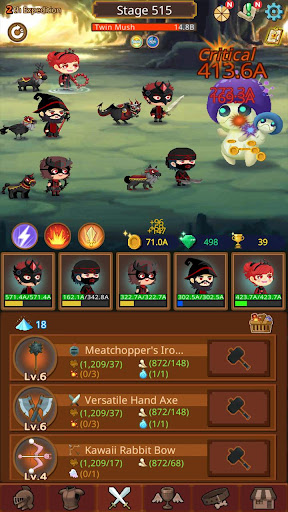 Job Hunt Heroes : Idle RPG apkpoly screenshots 13