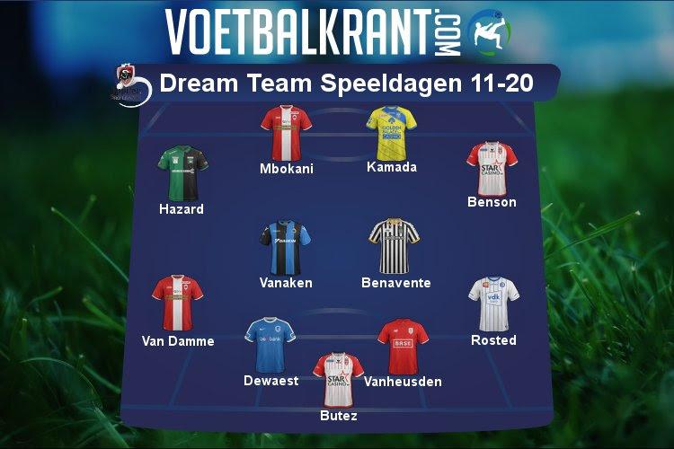 Dit is ons Dream Team van speeldag 11 tot 20!