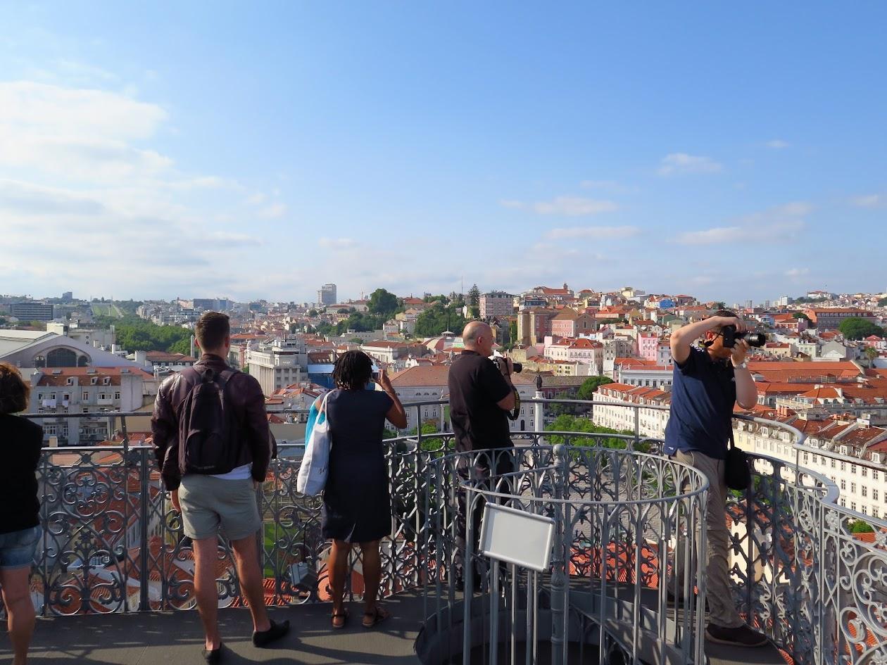 Elevador de Santa Justa, em Lisboa