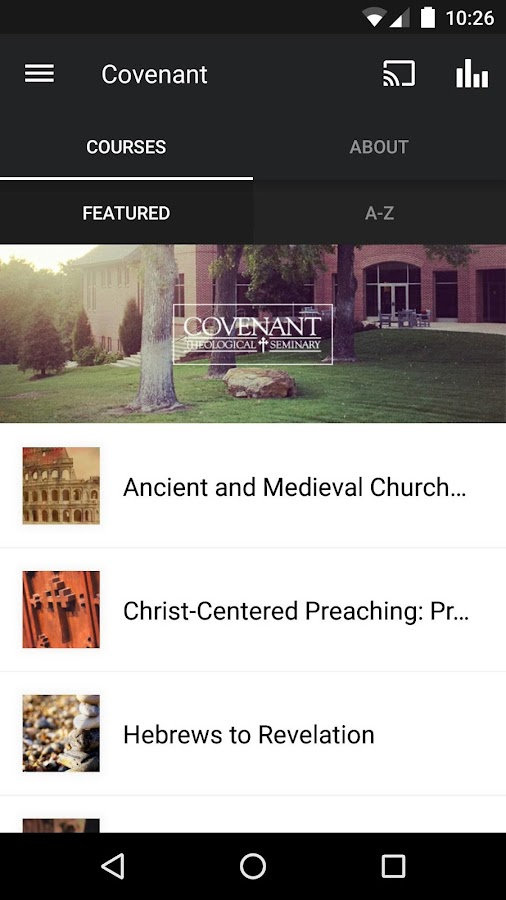 Covenant Seminary- screenshot