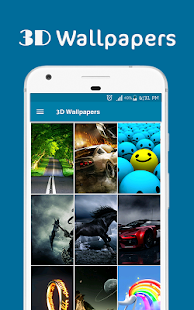 3D Wallpapers Backgrounds HD - náhled