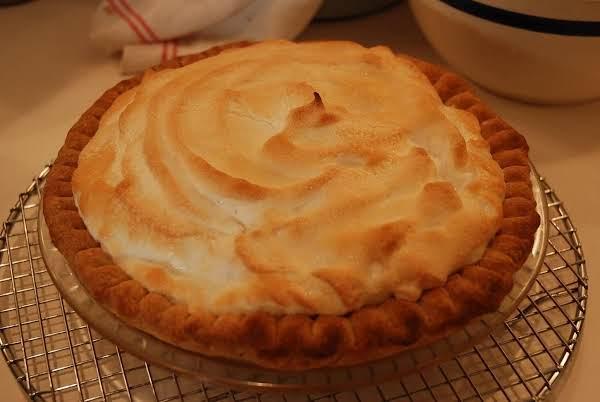 Strawberry-rhubarb Custard Meringue Pie Recipe