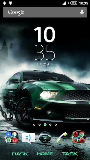 Race Car Xperien Theme
